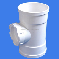 160mm flexible upvc plastic water pipe faucet rain fitting price coupling for drainage
