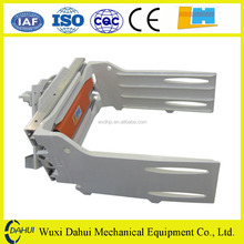 Longhe forklift hydraulic attachments revolving bale clamp