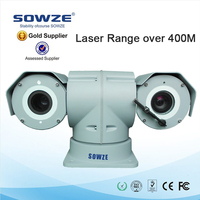 professional police car outdoor IP66 weather 360 degree rotation PTZ 30x optical zoom cctv camera