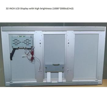 32 inch LCD outdoor sun-light readable display with high brightness 1500~2000 nits