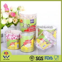Paper products PVC tube packaging paper cupcake