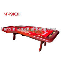 Luxury Roulette wheel poker table