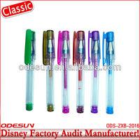 Disney factory audit manufacturer' retractable gel pen 148708