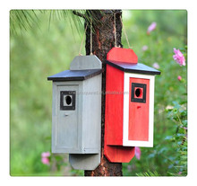 Hot Selling Wooden Outdoor Kids Toy Children's Wooden Bird House