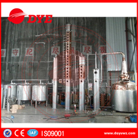 Alcohol distillation equipment factory for vodka/gin/whiskey/rum/brandy