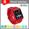 Bluetooth 3.0 compatible with IOS and Android system Rotatable smart watch phone U8 andriod smart watch