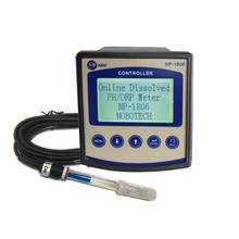 NP-1806 auto-cleaning high temperature glass PH monitoring online PH <strong>meter</strong>