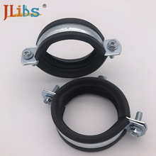 Welding type clamps M8 with rubber telescopic clamp welding pipe internal clamp