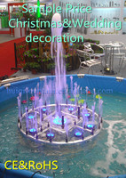 Mini Indoor Outdoor Music Fountian for Christmas & Wedding decoration