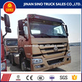 high quality sinotruck heavy tractor tractor head truck for sale in Djibouti