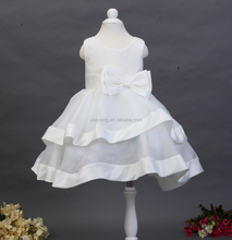 Christmas party fancy flower girl dress cheap puffy kids dresses for weddings