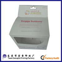 Customized display packaging box for retail
