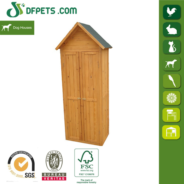 DFPETS DFG015 Wood Toll Cabinet Chest Garden Furniture