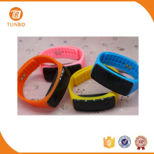 Wholesale silicone band sport digital wrist LED watch for teens