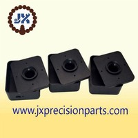 The photoelectric switch box high quality aluminum alloy black hard anodic CNC processing custom parts