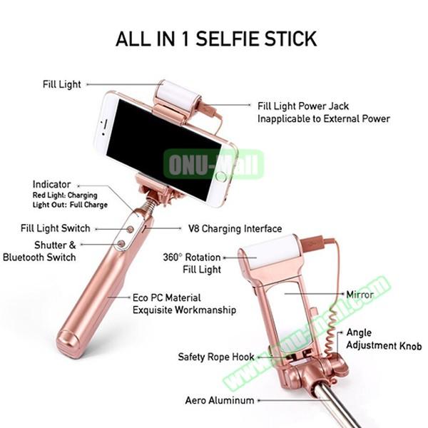 ce rohs certificed led light bulb selfie stick mini monopod selfie stick with. Black Bedroom Furniture Sets. Home Design Ideas