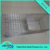 galvanized Collapsible Humane Animal Trap cage for sales