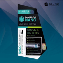 9H Full cover Edge Nano Liquid Touch Screen Protector Film Invisible NANO Technology for Mobile Phone