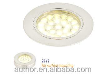 concise design 12V LED QUAD under kitchen cabinet light