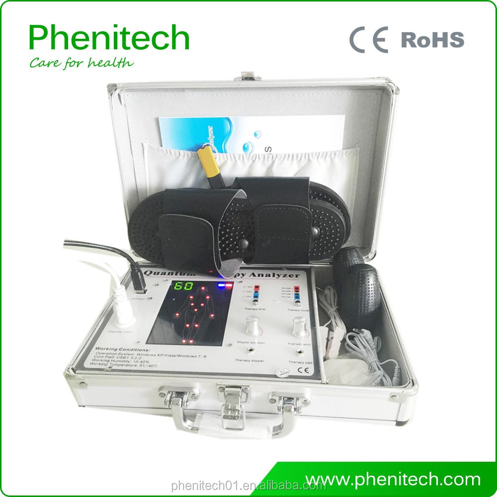 45 reports 4th Generation Quantum Resonance Magnetic Analyzer with Therapy Sticker and Slipper