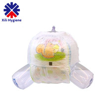 Comfortable & High Absorbency Disposable Baby Pants Diapers