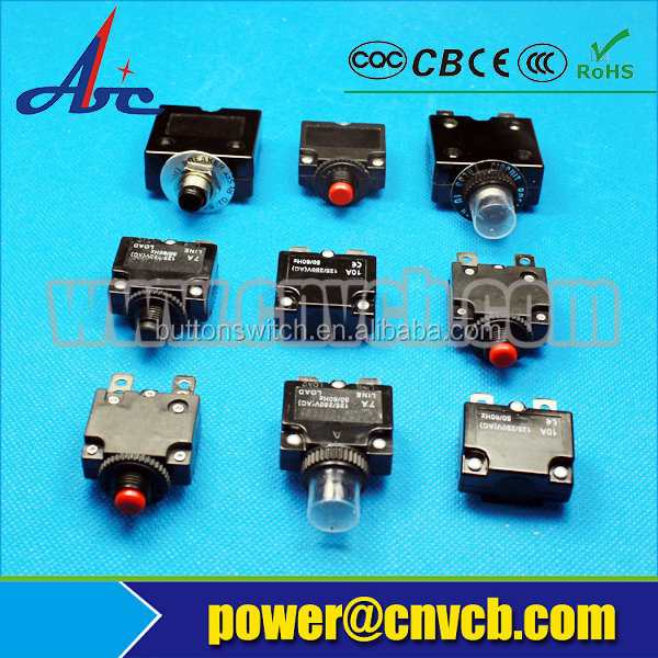 CB001 thermal overload protector switch low voltage Overload protection Circuit breaker