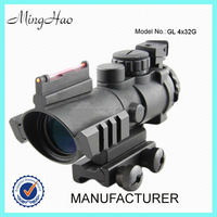 Minghao 4x 32mm police guns and weapons optic scope sight rifle scope