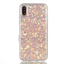 Phone and Accessories Liquid Glitter Phone Case for iphone X, for Apple iphone X case, Ultrathin Bling Case for iphone X