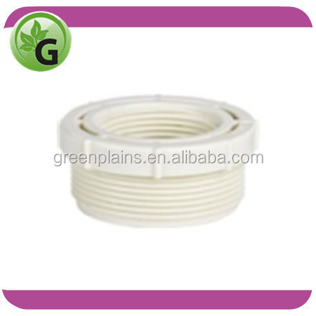 PVC male threaded adapter, UPVC thread pipe fitting, adaptor