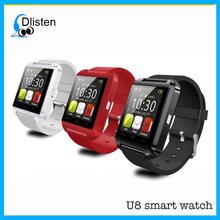2018 New Smartwatch BIuetooth BT smartphone watch for Samsung Android Phone relogio inteligente U8 smart watch phone