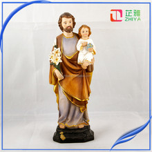 ST. JOSEPH & CHILD JESUS STATUE Adheseive For Car Dashboard