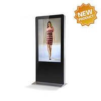 50 inch android LCD Advertising Monitor for smart touch controls for airport/school
