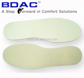 comfort latex fleece thermal wool foot warmer insoles