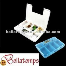 4 Group Alarm Pill box timer