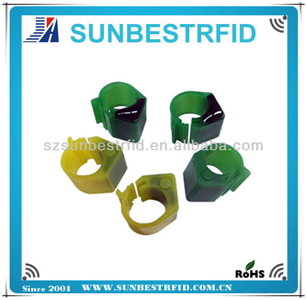 2016 Colorful Top Quality Pigeon rings for sale rifd ring tag