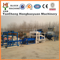 full automatic block making machine with superior materials QTJ4-18 full automatic block making machine with smooth transmission
