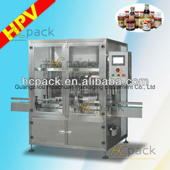 Eight-heads Full-automatic Sauce Filling Machine (plunger type)