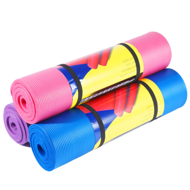 China directly factory private label nbr yoga mat