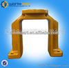 Excavator track frame track guard chain guard link guard