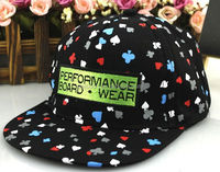 QQBC162 Wholesale custom floral printed baseaball cap New patch kids snapback hat