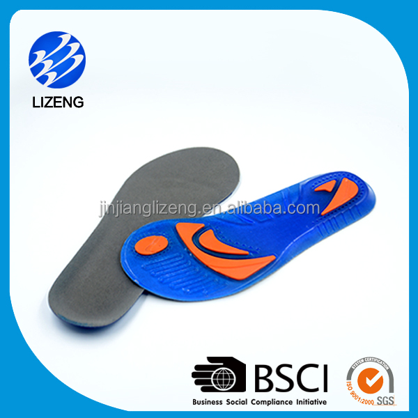 combine colors arch support soft gel insoles