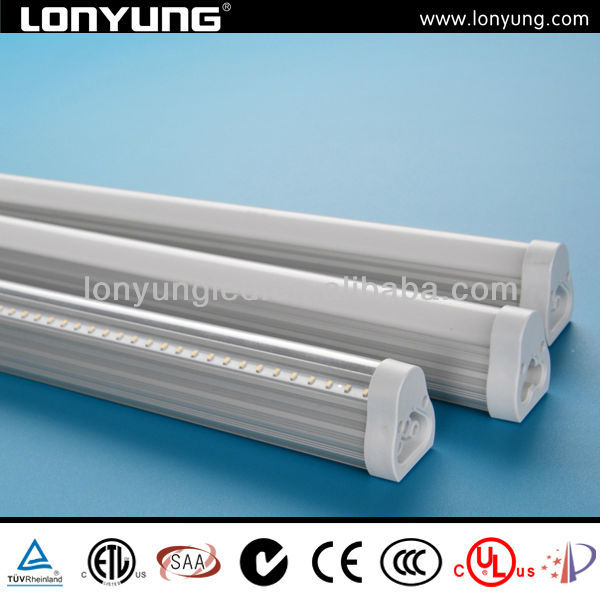High lumen 3014 12w 15w 20w 110~240V integratedt t5 fluorescent batten