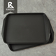 Hot table ware rectangular custom black room service tray wholesale
