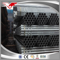 hot dip galvanized steel water pipe size chart