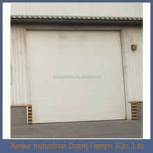 Automatic industrial warehouse double steel overhead door SLD-007