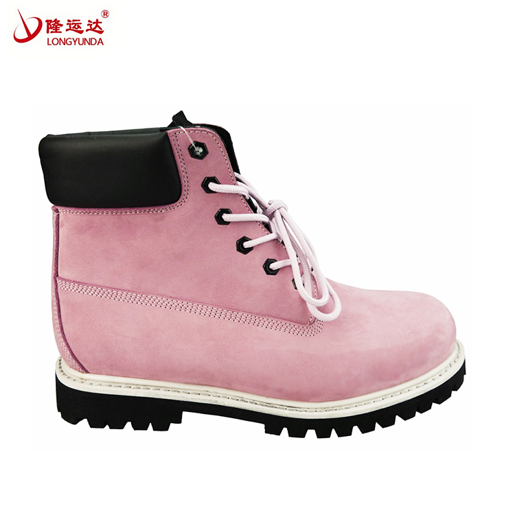 New Fashion Women industrial work safety boots with steel toe cap