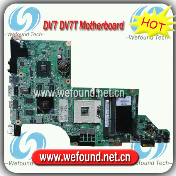 605320-001,Laptop Motherboard for HP DV7 DV7T Series Mainboard,System Board