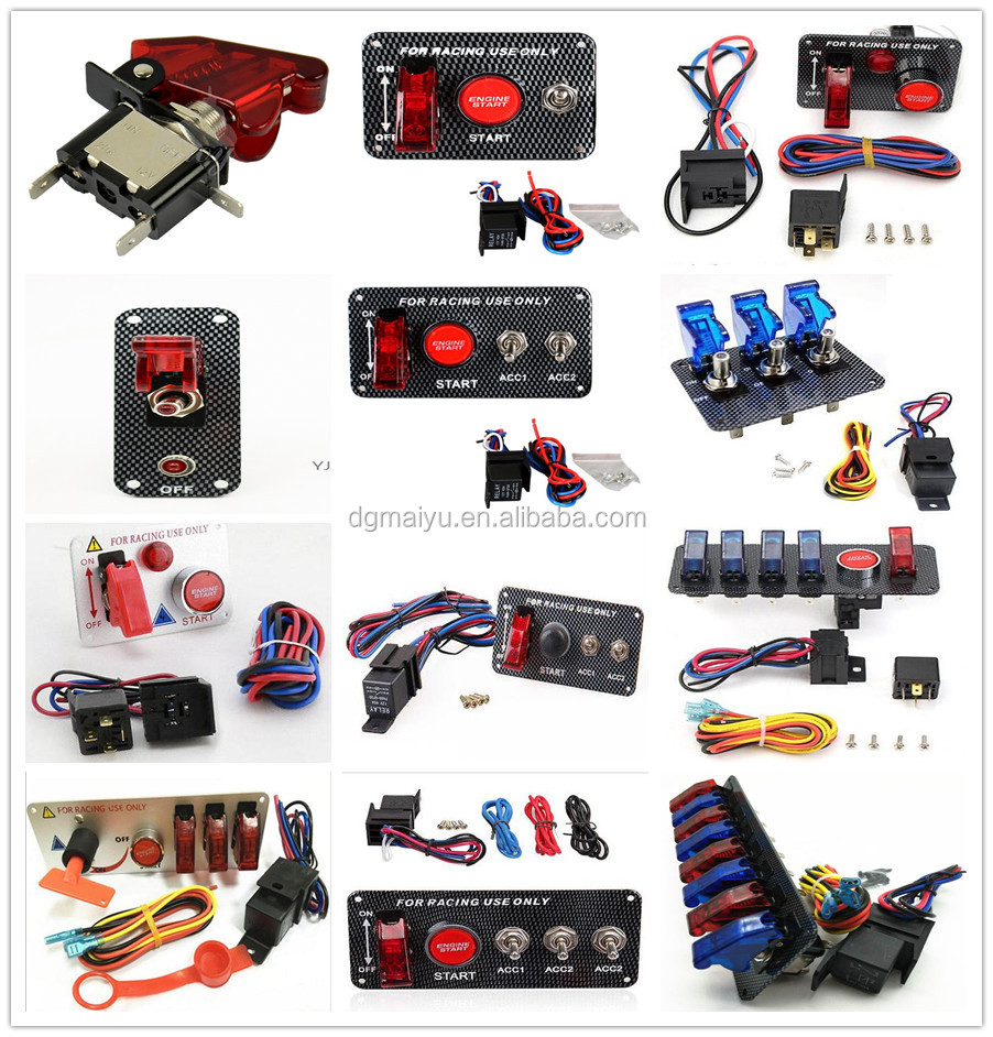 Racing Car 12v 30a Engine Ignition Start Red Led Push Button 2 1 Automotive Accessory Fuse Box We Supply Different Kinds Of Rocker Switch Panel Dual Usb Charger Motorcycles Accessories Block Holder