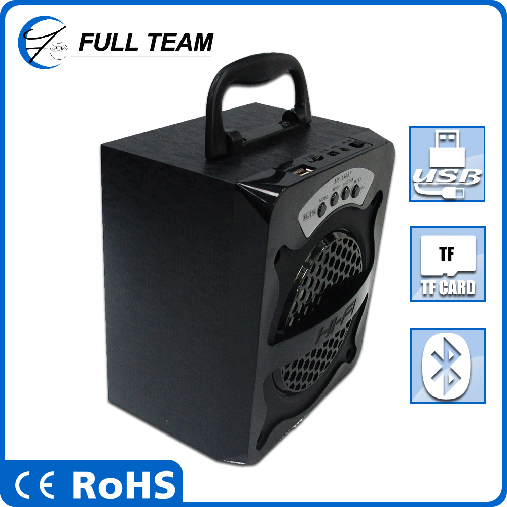 Portable speaker bag with MP3/MP4 player mini speaker case