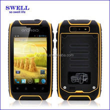"Popular 3.5"" IPS 960x640 Android4.2 dual core MTK6572 android rugged mobile 2 sim cards H1"